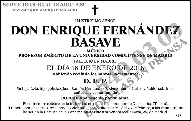 Enrique Fernández Basave